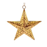 Golden star to hang