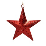 Red star to hang