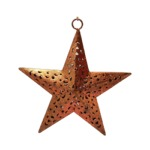 Copper star to hang